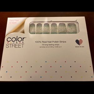 "RETIRED ""Pacific Waters"" Color Street Nail Strips"